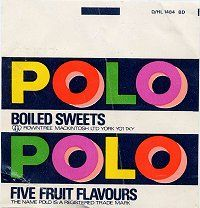POLO boild sweets - always really sticky in the packet!