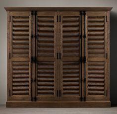 Shutter Wide Cabinets