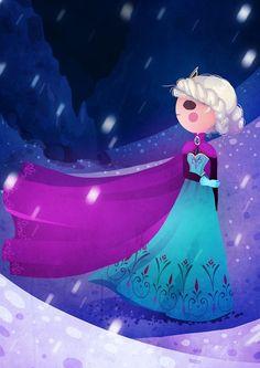 Elsa fanart by Nokiramaila