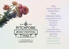 WANT TO GO...Walkmen, Fuck Buttons, Japandroids, Chromatics, Simian Mobile Disco Join Pitchfork Music Fest Paris