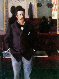 Inspiration for the Portrait of Sheila & Thomas Leslie - http://www.wikiart.org/en/gustave-caillebotte/at-the-cafe-rouen-1880