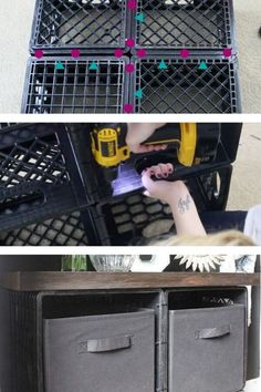 Organize your entryway on a budget with these easy shoe storage ideas. Quick diy ideas to organize your shoes and keep your hallway clean. easy shoe storage tips. #hometalk