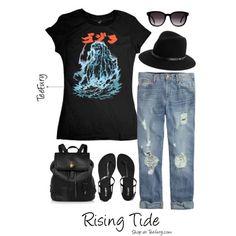 Rising Tide - (Women's) Buy it on TeeFury here: http://www.teefury.com/rising-tide/?utm_source=pinterest&utm_medium=referral&utm_content=risingtide&utm_campaign=galleryinfocus?&c3ch=Social&c3nid=Pinterest #Style #TeeFury #ootd