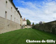 Scenes from France: Chateau de Gilly | Gluten Free Travelette #france #burgundy