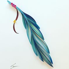 Colorful Paper Art by Sena Runa