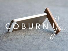 COBURN Jr. – iPhone stand by Levi & Eric - FINEGRAIN — Kickstarter