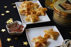 Estrellas de mermelada de higos y queso. | Cuchillito y Tenedor