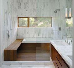 vertical carrera bathroom tile shower surround