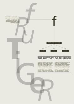 Study - Typography - Frutiger - Poster #2.3