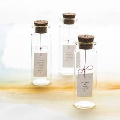 tiny message in a bottle by hollyanna | notonthehighstreet.com