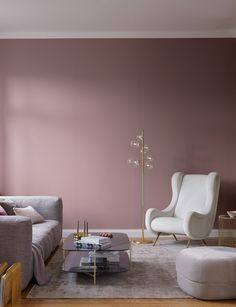 modern-einrichten-alpina-feine-farben-melodie-der-anmut-roseviolette-wandfarbe/ delivers online tools that help you to stay in control of your personal information and protect your online privacy. Bedroom Wall Colors, Bedroom Color Schemes, Room Decor Bedroom, Living Room Decor, New Room, House Colors, Interior Design, Home Decor, Rose Wall