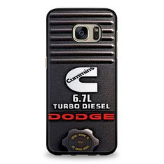 Dodge Cummins Turbo Diesel Samsung Galaxy S7 Case | yukitacase.com