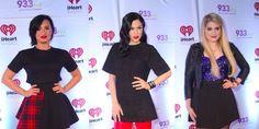 Jessie J, Demi Lovato and Meghan Trainor look bodacious at 93.3 FLZ's Jingle Ball: FASH-OFF -Sugarscape.com