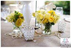 Resultado de imagem para wedding decoration yellow
