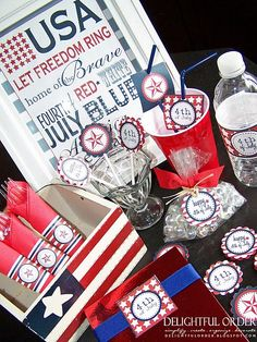 #Great fun ideas for the 4th of July!