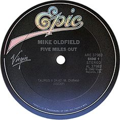 collection of articles on Mike Oldfield, coleccionismo musical sobre Mike Oldfield, Mike Oldfield music, Mike Oldfield musica Five Miles, Mike Oldfield, Lps, United States, Songs, American, Song Books
