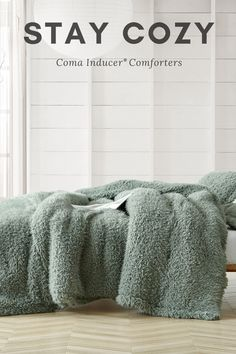 Stay Cozy by being wrapped up in a Coma Inducer Comforter from Byourbed!