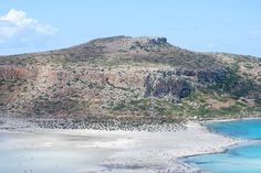 Playa de Balos en Creta, Grecia.