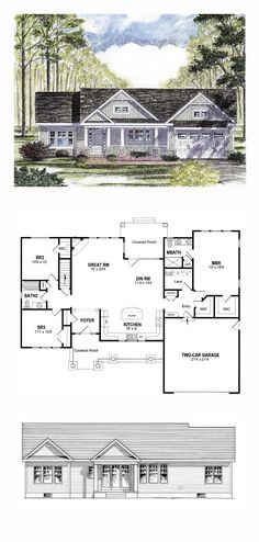 2 houses ago, maybe. No dining room. :( master is interesting, needs larger MB.