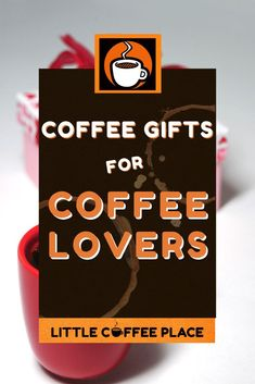 A collection of 30 perfect gifts for the coffee lovers in your life! #littlecoffeeplace #coffeegiftideas #giftideas #coffee Coffee Thermos, Coffee Canister, Little's Coffee, Pour Over Coffee, Best Coffee, Coffee Beans, Coffee Lover Gifts, Coffee Lovers, Ways To Make Coffee