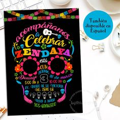 COCO Birthday Invitation, Coco Printable Invitation, Disney Inspired, Coco Invitation, Coco Disney Pixar, Coco Disney Birthday, Catrina ❤ WELCOME TO LYTHIUM ART SHOP! ❤ COCO PARTY INVITATION Printable Invitation with the most beautiful design for a very special Birthday Party. Print as