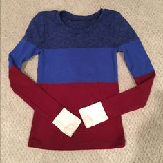 Jcrew sweater. Color block sweater. J. Crew Sweaters Crew & Scoop Necks