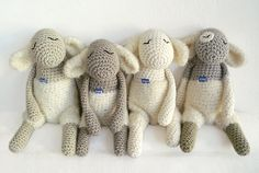 Toys / toy / Unschulds Lamb with lintPo by eineIdee on Etsy, €38.00