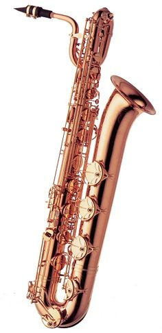 Come check out our new copper-plated Baritone Saxophone on display now!