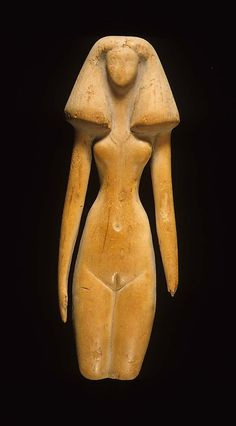 Female figure,  Middle Kingdom, Dynasty 12, ca. 1991–1450 B.C. Upper Egypt; Thebes, el-Asasif, Birabi, Tomb CC 24, Carnarvon/Carter excavations 1910, Conifer (Cedar)