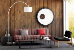 mid century decor | Mid-Century Inspired Room