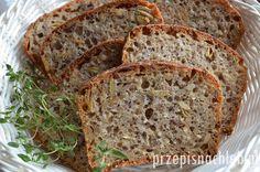 Chleb orkiszowy z ziarnami na zakwasie. Rewelacyjny chleb orkiszowy z dodatkiem mąki pszennej. Wzbogacony bardzo dużą ilością ziaren – siemienia lnianego, słonecznika, dyni i sezamu. Dodatkowo, odrobina kaszy jaglanej. Chleb jest zatem bardzo zdrowy, ale przede wszystkim jest bardzo smaczny. Składniki wymagają jedynie wymieszania łyżką. Polecam! Składniki Składniki na zaczyn: Składniki na ziarno: Wieczorem dnia poprzedzającego […]