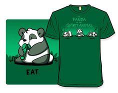 The Panda Is My Spirit Animal - Shirt.Woot