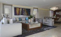 Sala Casa GL : Salas de estar modernas por VICTORIA PLASENCIA INTERIORISMO