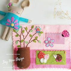 Amigurumi Cracker Girl Bunny Free Pattern-Part-3 - Tiny Mini Design