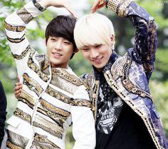 Seo Eunkwang and Minhyuk