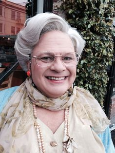 Lace Front Mrs Doubtfire Wig