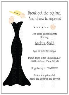 Bridal Shower Tea Party Invitation - DIY