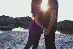 beach engagement photos // Aaron and Jillian Photography - destination Wedding Photographer based in downtown Charleston, SC //