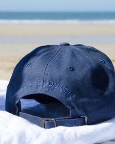 MY LIFE AQUATIC   Navy classic cotton beach cap Life Aquatic, My Life, Baseball Hats, Cap, Beach, Classic, Instagram Posts, Cotton, Baseball Hat