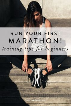 Run your first marathon or half marathon How to prepare for running your first long race specific training nutrition recovery tips for beginner runners Wellness tips f. Marathon Tips, First Marathon, Half Marathon Training, Marathon Recovery, Running Workouts, Running Tips, Beginner Running, Running Training, Fitness Tips