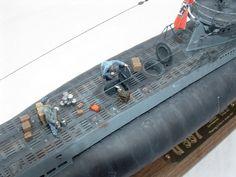 1/72 Revell Type VIIC U-boat model Scale Model Ships, Scale Models, Model Warships, E Boat, German Submarines, Water Crafts, Battleship, Nerd Stuff, Plastic Models