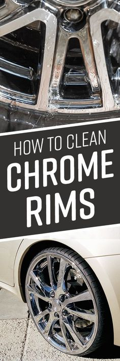 How to Clean Chrome Rims Car Cleaning, Cleaning Hacks, Bbq Grill Cleaner, How To Clean Chrome, Clean Grill, Chrome Wheels, Metal Structure, Diy Cleaners, Clean Living