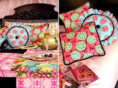 Romantic Bedroom Toss Pillow Trio | Sew4Home
