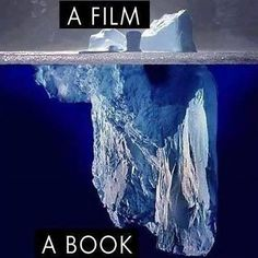A book, a film.  Why books are awesome.