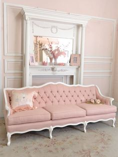 Pretty Pink Settee
