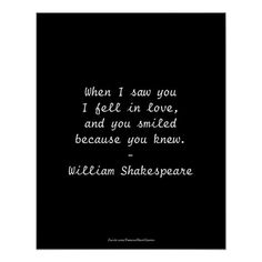 Shop Shakespeare Quote - I Fell In Love Poster created by FamousShortQuotes. Great Love Quotes, Falling In Love Quotes, Soulmate Love Quotes, Peace Quotes, Inspirational Quotes About Love, Quotable Quotes, Wisdom Quotes, Words Quotes, Me Quotes