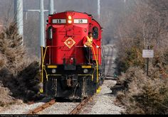 RailPictures.Net Photo: ME 18 Morristown & Erie Railway Alco C424 at East Hanover, New Jersey by Jason Bialecki