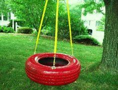 Artesanato com pneus – Reciclando com arte 015
