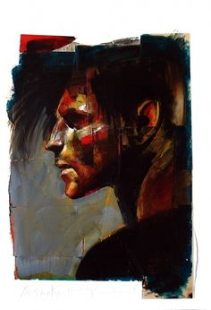 One of my favourite comic book characters of all time... Dream by Dave McKean