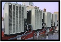 Photo about A row of air conditioning units on a rooftop. Image of airconditioners, outdoor, ventilator - 16357764 Commercial Air Conditioning, Air Conditioning Units, Air Conditioning Services, Refrigeration And Air Conditioning, Air Conditioning Installation, Orange City, Air Conditioners, Commercial Hvac, Air Air